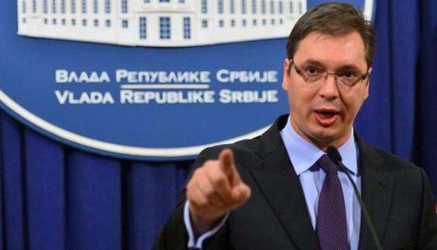 Премьер Сербии Вучич подал в отставку