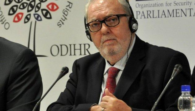 Новий голова ПАРЄ закликав Росію звільнити Крим, Донбас і Савченко