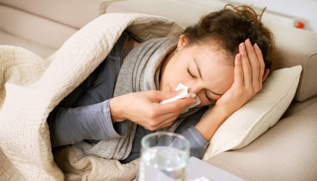 Flu epidemic threshold exceeded in 11 regions of Ukraine