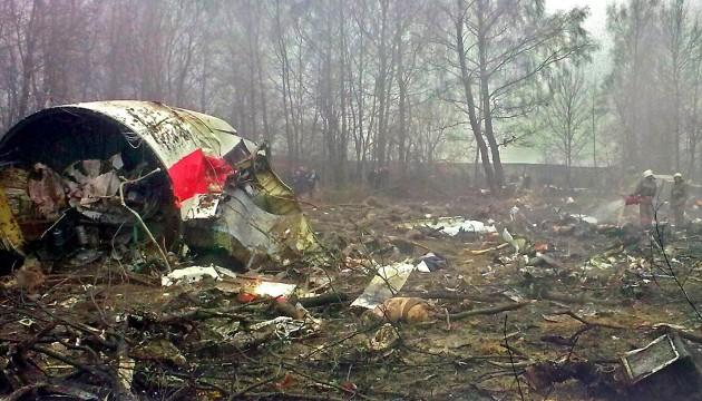 Польські експерти завершили в Смоленську огляд уламків літака Качинського