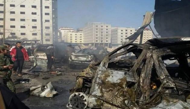 В Дамаске произошла серия взрывов, есть жертвы