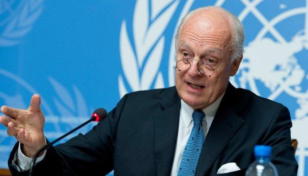 Представник ООН анонсував ще один раунд переговорів щодо Сирії
