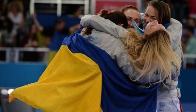 Українські шаблістки перемогли росіянок у фіналі етапу Кубка світу в Греції