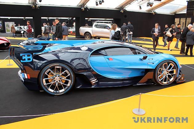 Bugatti Vision Gran Turismo