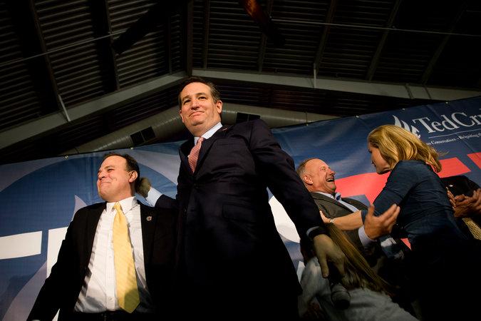Тед Круз Фото: Stephen Crowley/The New York Times