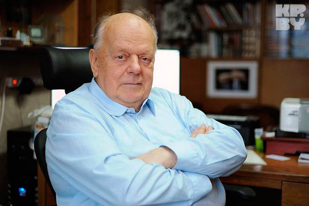 Станислав Шушкевич. Фото: Виктор ГИЛИЦКИЙ / kp.md