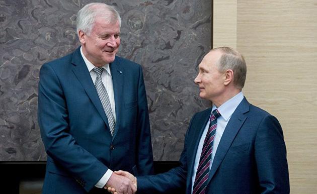 Зеехофер Путин / Фото: РИА Новости