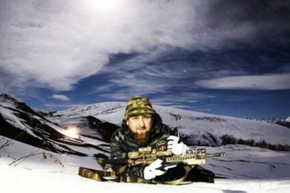 Кадыров с винтовкой