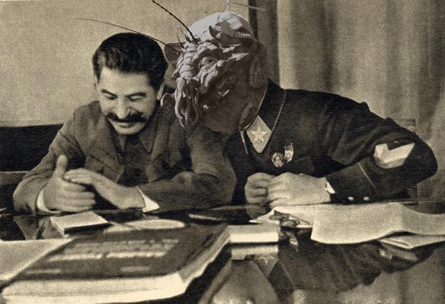Ось такий пропагандистський витвір з підписом «Клим Ворошилов – маршал, якому було небезпечно довіряти навіть полк»