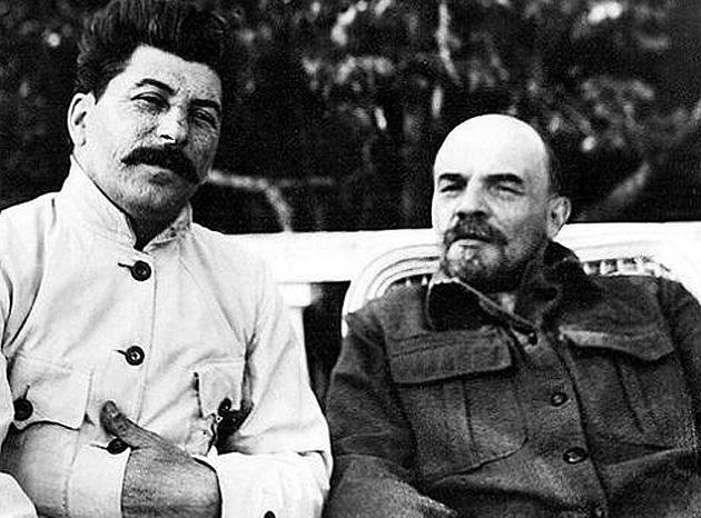 Сталин и Ленин