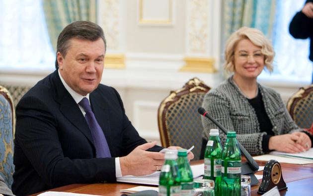 Виктор Янукович Анна Герман