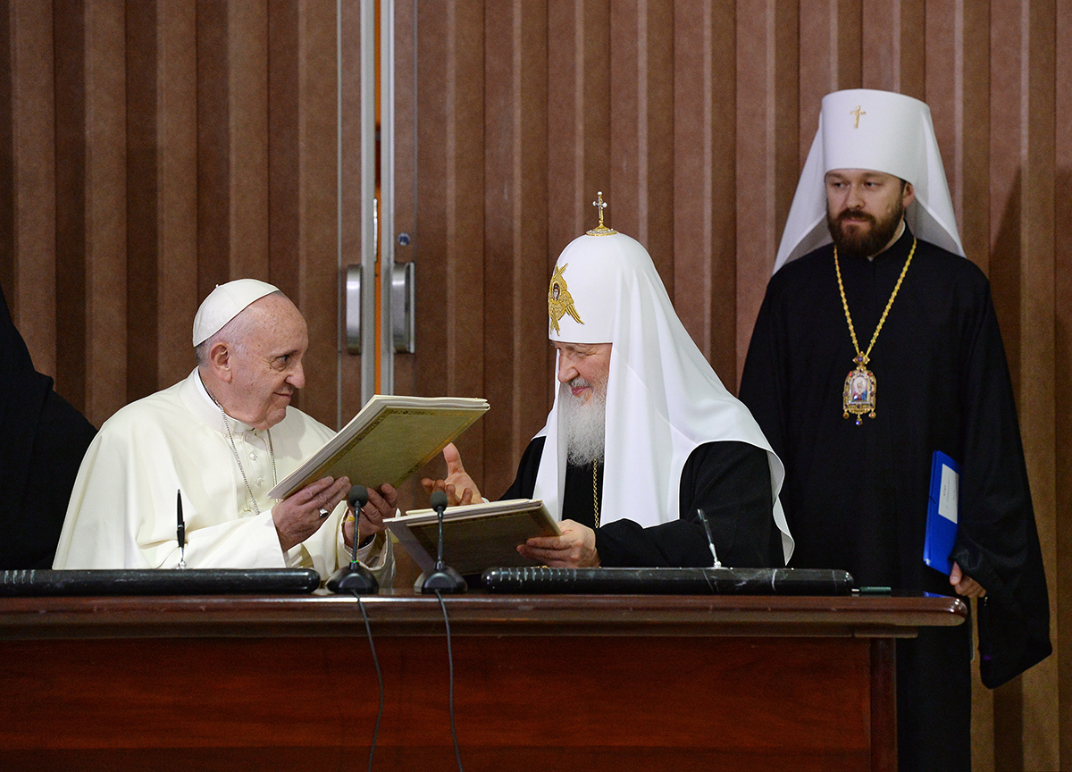 Фото: пресс-служба Московской патриархии РПЦ