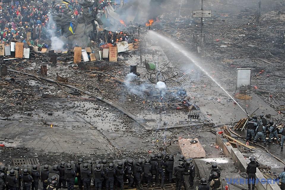Сім років тому, 18 лютого, розпочалися трагічні події на вулиці Інститутській під час Революції Гідності.