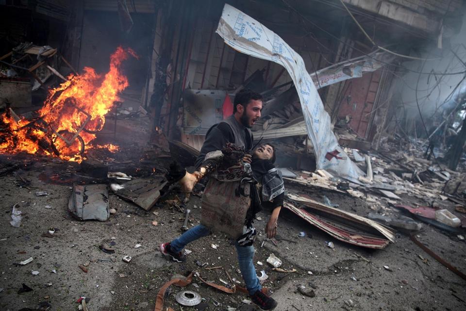II место в категории «Новости» среди фотоисторий Фото: Abd Doumany / AFP