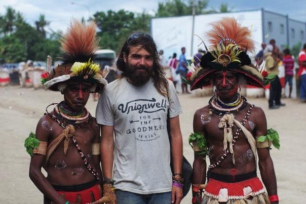 Сергей Онищенко в Папуа - Новой Гвинеи