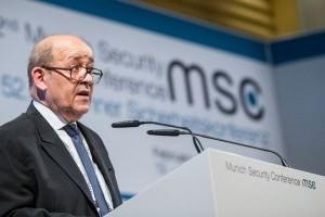 Ле Дріан пояснив, навіщо Франція шукатиме канали для діалогу з Росією