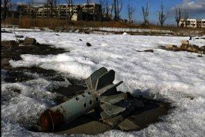 За добу окупанти випустили 125 мін, під Мар'їнкою працює снайпер