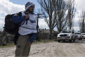 OSCE spots howitzers, mortars and tanks in violation of withdrawal lines in Donbas