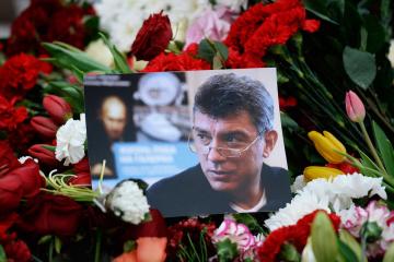 Inaugurarán la Plazuela de Nemtsov cerca de la Embajada de Rusia en Kyiv