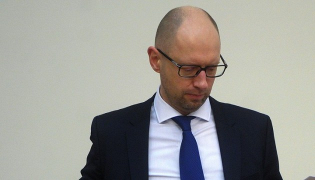 PM Yatsenyuk meets defense ministers of Lithuania and Sweden