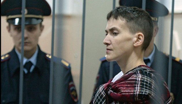 Savchenko announces hunger strike without water