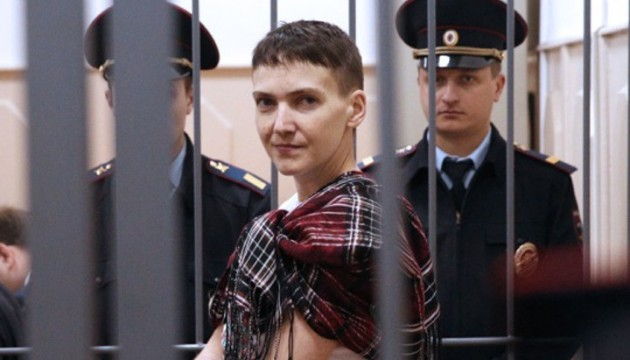 Russian prosecutors ask to sentence Savchenko to 23 years in colony