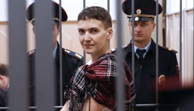 На процес Савченко приїхав український сапер з Нацполіції