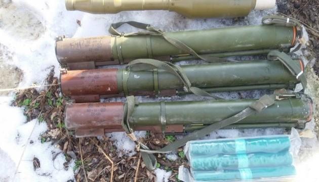 В Попаснянском районе нашли тайник с гранатометами