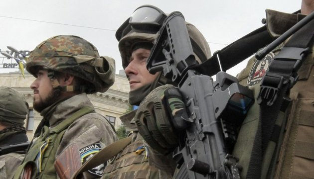 Two Ukrainian servicemen wounded in ATO area