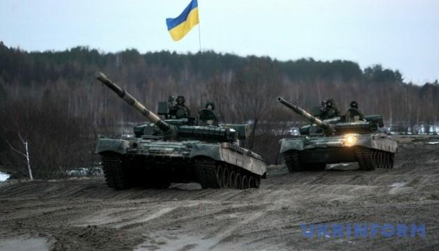 Порошенко привітав танкістів