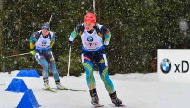 Українські біатлоністки - п'яті в естафеті на юніорському ЧС-2016 в Румунії