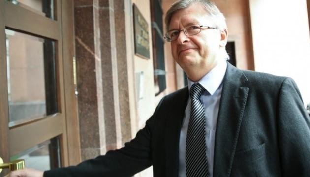 Посол Росії привітав Ващиковського з Новим роком