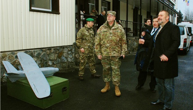 Полк «Дніпро-1» відвідав генерал армії США
