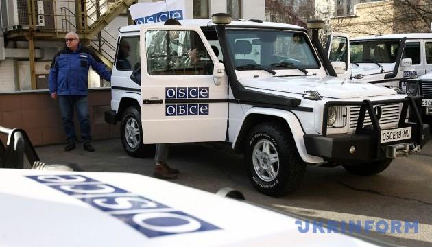 L'OSCE a enregistré la présence du matériel militaire non retiré en possession des mercenaires russes
