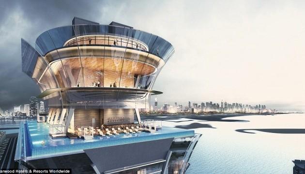 У Дубаї з'явиться найвищий панорманий басейн