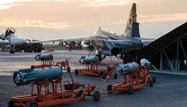 Пентагон заявляє, що Росія вивела з Сирії не більше десятка літаків