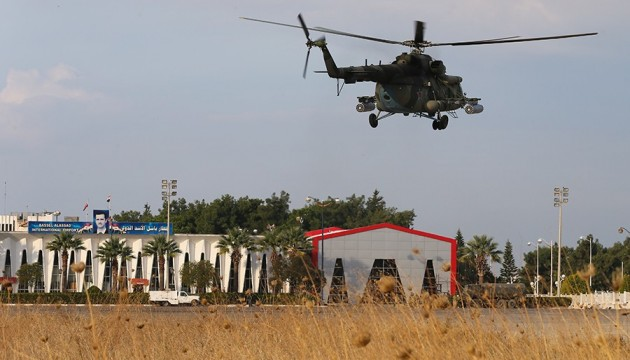 Росія вивезла з Сирії три ударні вертольоти
