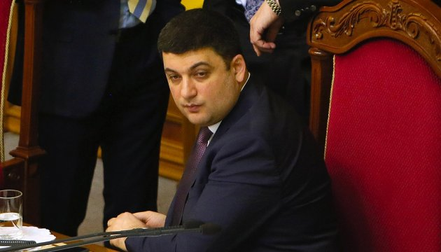 Groysman, public activists discuss ways of overcoming crisis