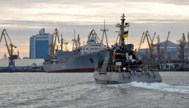 Украинский флот получил два бронированных артиллерийских катера