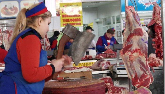 Експерт: М'ясо в Україні подорожчало за рік на 28-39%, сало - на 67%