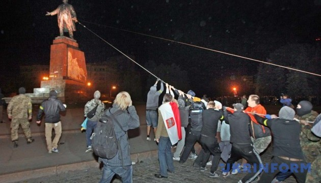 Харківщина лідирує за кількістю демонтованих пам'ятників