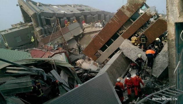 Землетрус на Тайвані: вже 11 загиблих