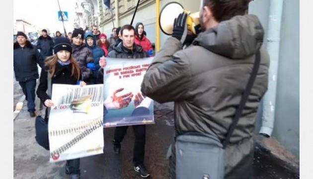 У Харкові мітингували проти російського бізнесу