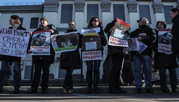 У Москві затримали вже 6 учасників акції на підтримку Дадіна
