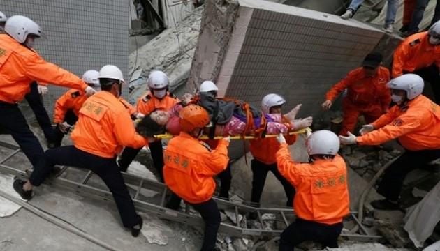 Жертв землетрусу на Тайвані вже 31. Поранені 515