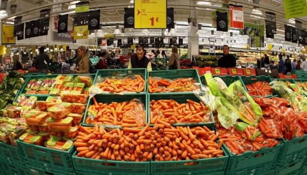 Ціни на продукти цьогоріч зросли майже на 8% - Держстат
