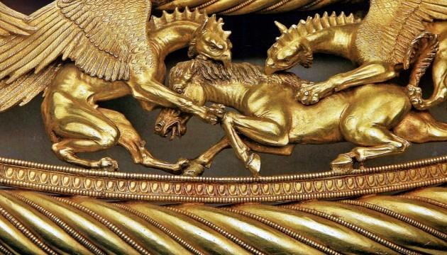 В АПУ виставили фото скіфського золота