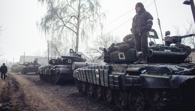 15 tanks, 7 trucks with ammunition delivered to militants in Luhansk