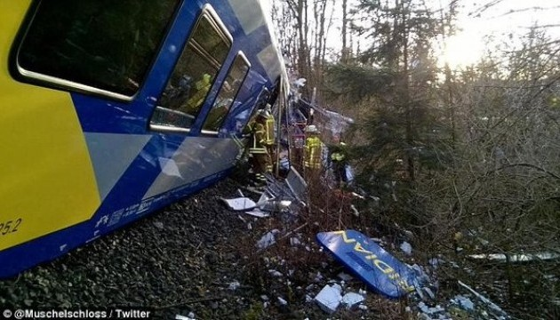No Ukrainians among victims of train collision in Germany - MFA