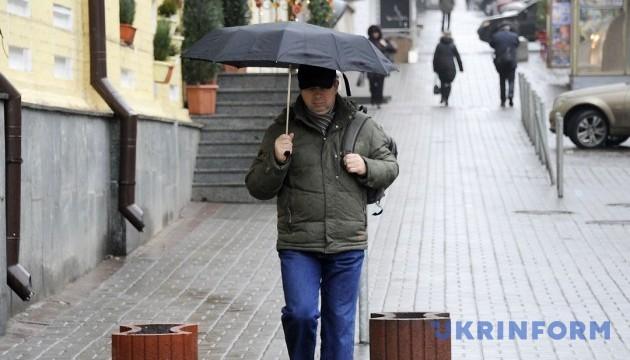 В Києві завтра мокрий сніг